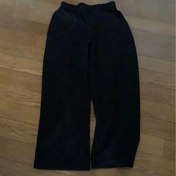 黒★ウエストゴムパンツ★サイズ M