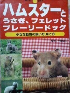 飼育書【ハムスター・ウサギ・フェレット・プレーリードッグ】