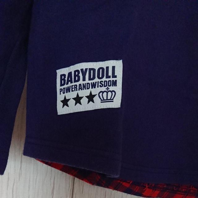 BABYDOLL☆秋物☆トレーナー☆size150 < ブランドの