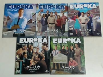 DVD[海外ドラマ/完結/コンパクトBOX] EUReKA/ユーリカ 地図にない街