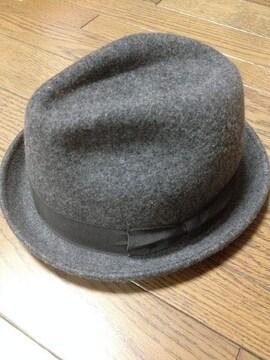 美品grace hats メルトンハット