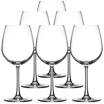 色ボルドー サイズ600ml オーシャン ワイングラス ボルドー 600m