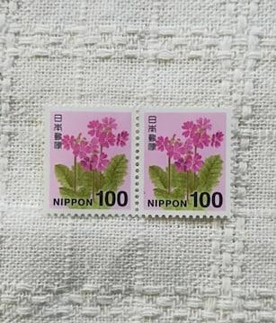 未使用切手 100円 2枚