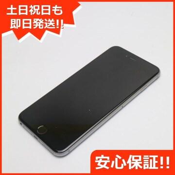●●美品●SOFTBANK iPhone6 PLUS 64GB スペースグレイ●