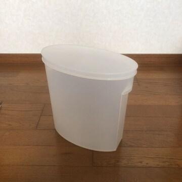 美品 米びつ プラスチック製