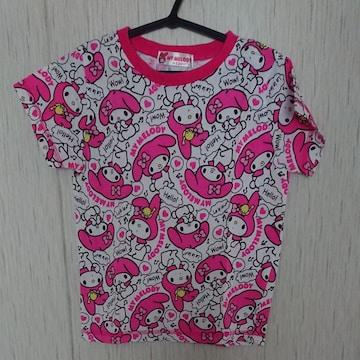 マイメロディのTシャツ☆size120☆ピンク