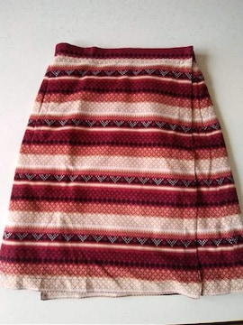 ユニクロラップスカート