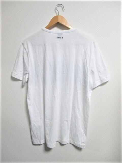 ☆HUGO BOSS ヒューゴ ボス ビッグロゴ Tシャツ/メンズ/L☆新品☆新作モデル < ブランドの