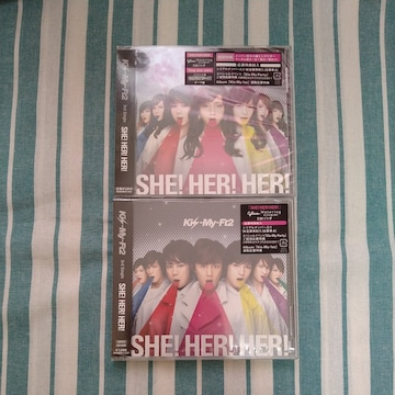 Kis-My-Ft2 SHE!HER!HER!2枚セット新品未開封です。