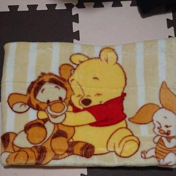 くまのプーさん ベビー毛布