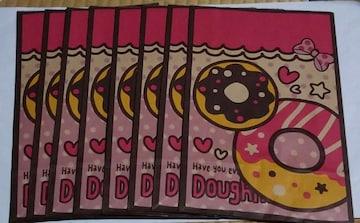 ★SWEETSドーナツ☆クラフトギフトバッグ★ピンク★大8枚