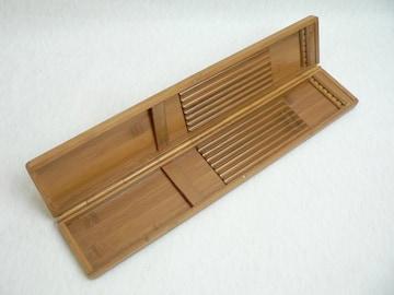 竹製 へらウキ用 ケース・ウキ箱 ◆ 未使用品