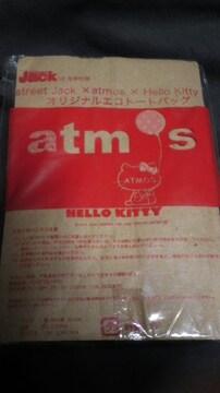 雑誌付録アトモス×ハローキティエコトートバッグ