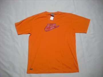 rt603 男 NIKE ナイキ 半袖Tシャツ Lサイズ オレンジ