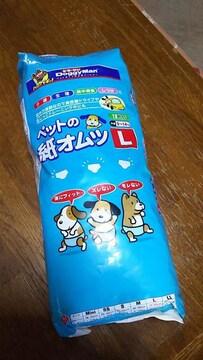 犬 紙オムツ Lサイズ