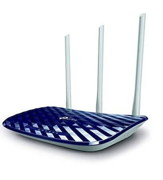 ブルー TP-Link WiFi 無線LAN ルーター iPhone8/iPhoneX 対応 1