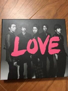 嵐☆ラブ LOVE 初回盤ビデオクリップ付☆大野櫻井相葉松本二宮