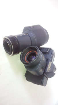 Canon T80 + AC 35-70�o + オマケ AC 75-200�o
